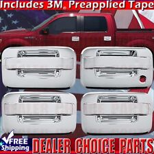 2004-2014 FORD F150 Chrome ABS Door Handle COVERS Trims W/O Keypad W/Out PSK 4DR