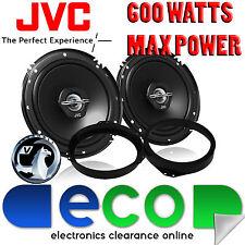 "Vauxhall Vectra C 02-09 JVC 16 CM 6.5 "" 2 Vie 600 Watt porta anteriore Altoparlanti Auto"