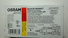 OSRAM QTP 2X26/CF/UNV DM FLUORESCENT ELECTRONIC BALLAST 2 LAMP