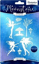 HUNKYDORY MOONSTONE CUTTING DIES FAIRY WISHES 8 DIE SET FAIRIES TOADSTOOL TREE