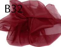Ac-08 PER METER Red Sparkle Organza Fabric Braidal dress Decorative Material