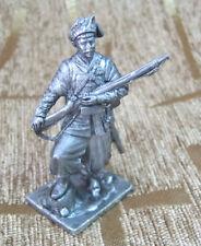 54 mm Tin Miniature sculpture Figure Toy soldier Ukrainian Cossack 17th century