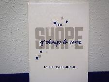 "1988  CONCORDIA COLLEGE COLLEGE  YEARBOOK "" COBBER  "" Moorhead, Minnesota"
