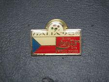 Pin ITALIA 90- République Tchèque