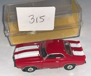1969 Red Z28 Camaro MoDEL MoToRING T-jet HO Scale Slot Car Body Aurora