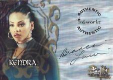 Buffy Tvs - Sea 2 - Bianca Lawson As Kendra Auto Card - A9 - NrMt