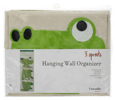 NEW | 3 Sprouts - Crocodile Wall Organize Infant Nursery Toddler | FREE SHIPPING