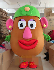 2017 new Mrs. Potato Adult Size Halloween party game Mascot Costume Fancy Dress2