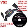 PRINS VSI 1 Diagnostic Diagnosis USB INTERFACE  LPG GLP CNG Cable + DVD Software
