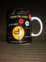 Cirque Du Soleil Circus Vegas Coffee Mug Cup Collectable