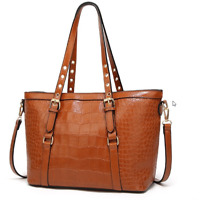 Women Leather Handbag Shoulder Bags Tote Purse Messenger Hobo Satchel Cross Body