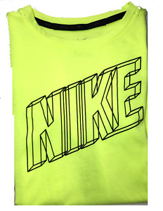 Boys Nike Tee T-shirt - Red, Neon Yellow or Black NWT