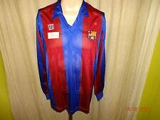 "FC Barcelona  Meyba Langarm Trikot 1984-1989 ""ohne Hauptsponsor"" Gr.M NEU"