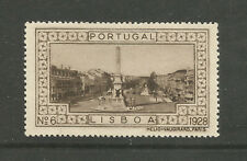 Portugal 1928 poster stamp/label (#6 Lisbon)