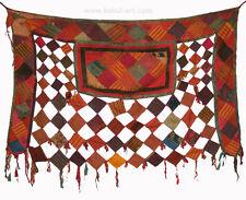 antique Uzbek ikat Patchwork Wedding Camel Tent wall decoration Flankenschmuck 2