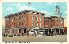 Wenatchee Washington New Wenatchee Hotel Antique Postcard J62000