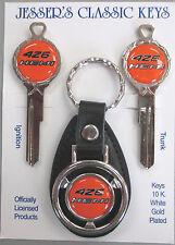 426 HEMI Deluxe Classic Key Set Dodge Plymouth 1966 1967 1968 1969 keys