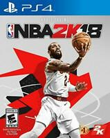 NBA 2K18 18 2018 (Sony PlayStation 4, 2017) PS4 ** Professionally Refurbished *