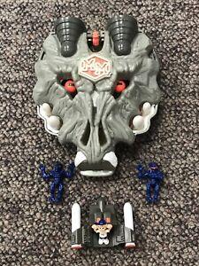 1992 Bluebird Mighty Max Terminates Wolfship 7 Doom Zones Complete