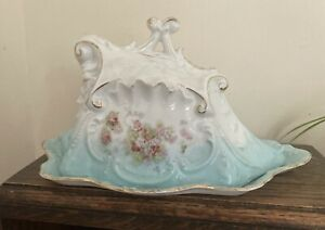 Antique, Victorian, Large Cheese Dish