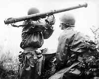 "US Marines with a Bazooka at the Battle of Osan 8""x 10"" Korean War Photo 29"