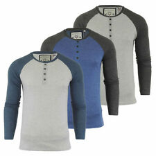 Brave Soul Henley Regular Fit Casual Shirts & Tops for Men