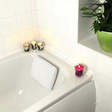 Luxury Bath Pillow Support Ergonomic Headrest Spa Bathing Suction Cups