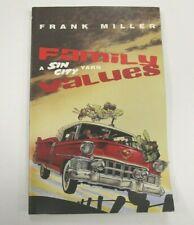 Frank Miller Sin City Family Values Sc Tpb Book Dc Comics