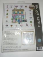 "DIMENSIONS Counted Cross Stitch Kit - CAKE SHOP - 12"" x 12"""