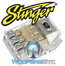 SHD821 STINGER HPM 4G MIDI MINI FUSE CAR AUDIO AMPLIFIER DISTRIBUTION BLOCK NEW