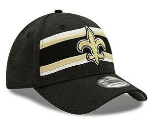 New Orleans Saints New Era Onfield Base Sideline 39Thirty Flex Fit hat cap M/L