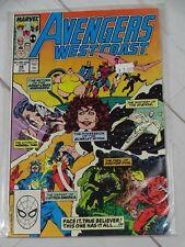 The West Coast Avengers #49 Marvel Comics Bagged - C2205