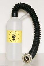 ☢ Gas Mask Respirator Inhalator Liquid Bubbler Vapouriser Bottle Connector