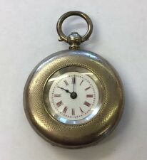 Antique Solid Silver Cased Fob/Pocket Watch Not Working