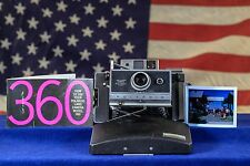 Exell Battery Polaroid Land Camera Model 360 Zeiss Film Tested Restored Minty
