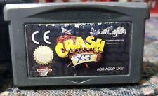 Gameboy Advance módulo Crash Bandicoot XS (véase la imagen) GBA del juego