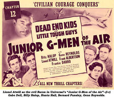 Junior G-Men of the Air - Classic Cliffhanger Serial Movie DVD Dead End Kids