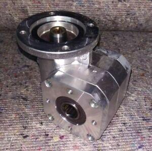 """Rexroth (Bosch) Winkelgetriebe  90°,i=12, GS 14-1,""""Schneckengetriebe"""""""