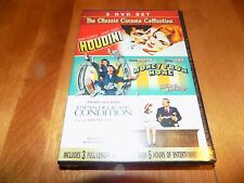 CLASSIC CINEMA Houdini Tony Curtis Money From Home Dean Martin Lewis DVD SET NEW