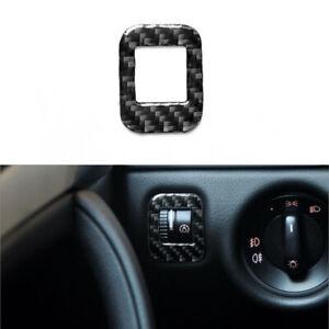 For Porsche Cayenne Sport 2003-10 Carbon Fiber Headlight Switch Panel Cover Trim