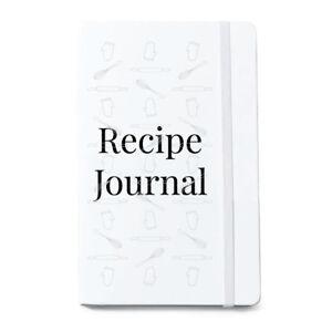 Recipe Notebook Blank Cooking Journal Kitchen Notepad Chefs Cookbook Baking Gift