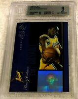 KOBE BRYANT 1996 SP PREMIUM COLLECTION HOLOVIEW ROOKIE BGS 9 SUBS 9.5 8.5 9 9