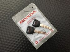 GENUINE OEM HONDA ACURA CL INTEGRA MASTER KEY UNCUT BLANK NON CHIPPED SET OF 2