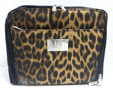 NEW Ultimate Cosmetic Organizer Case by Lori Greiner Leopard