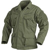 Helikon Sfu Next Military Cadet Uniform Shirt Mens Ripstop Jacket Olive Green