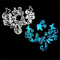 Stanzschablone Liane Schmetterling Weihnachten Neujahr Hochzeit Karte Album Deko