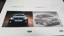 2003 FORD FOCUS SPORT TCDi Sales Brochure from Germany