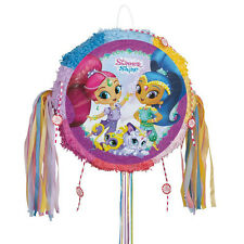 SHIMMER AND SHINE PULL-STRING PINATA ~ Birthday Party Supplies Decorations Game
