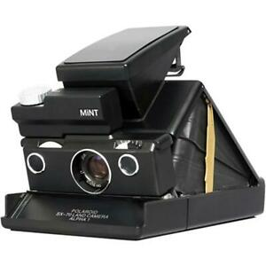 MiNT SLR 670-X BLACK Polaroid SX-70 Land Camera MING Edition