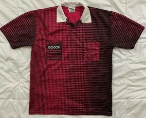 Vtg Adidas 1994 World Cup Referee Soccer Jersey Shirt Men's M Made in Argentina